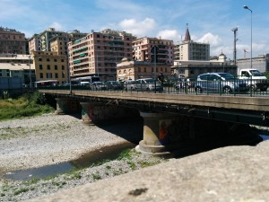 Field visit to the study area of Genoa, Italy